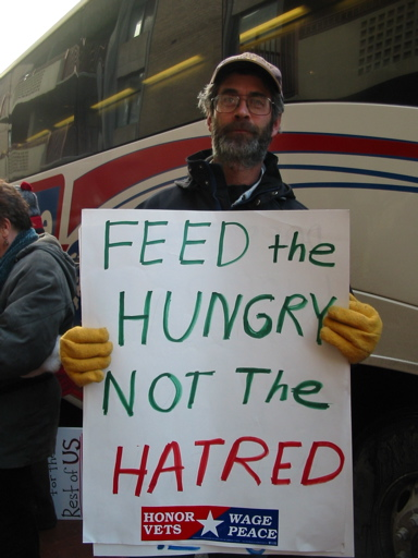 Feed the Hungry Not the Hatred