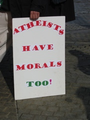 Atheists Have Morals Too!