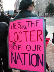 He's the Looter of our Nation