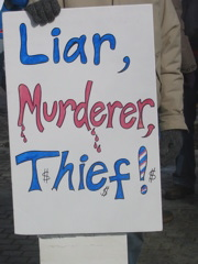 Liar, Murderer, Thief!
