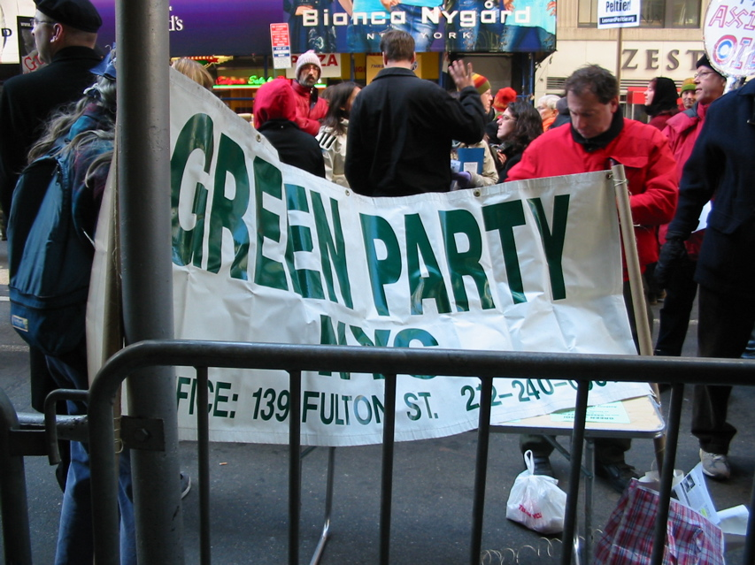 Green Party, NYC