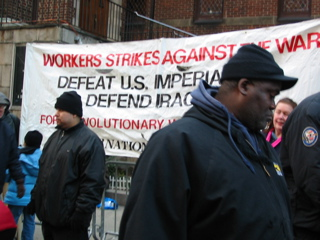 Works Strikes Against the War