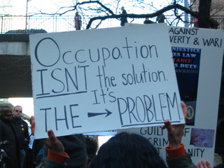 Occupation isn't the Solution