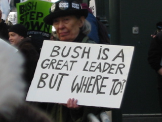 Bush is a great leader. . .