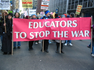 Educators to Stop the War