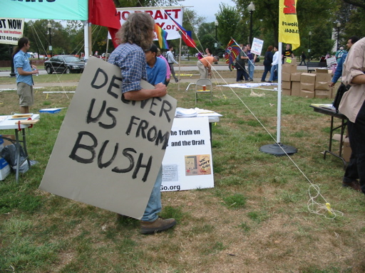 Deliver us from Bush