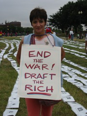 End the War! Draft the Rich