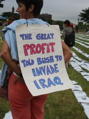 The Great Profit told Bush to invade Iraq