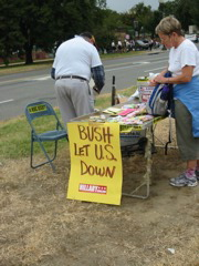 Bush let U.S. Down