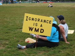 Ignorance is a WMD
