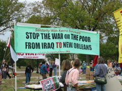 Solidarity With Katrina Survivors