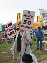 I March for 50 Friends