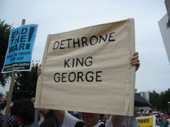 Dethrowne King George