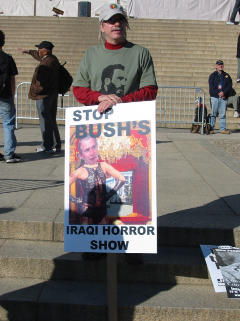 Stop Bush's Iraq Horror Show