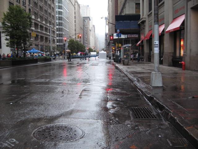 Rain On The Streets